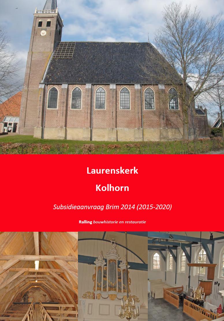 Kolhorn Laurenskerk PIP 2015-2020