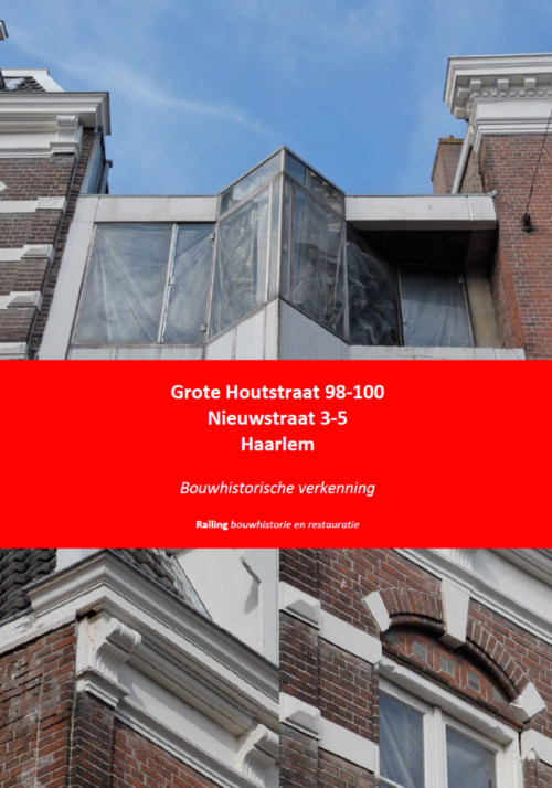 Kaft De slegte Haarlem